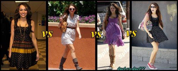 laquelle est votre robe préféré    ?