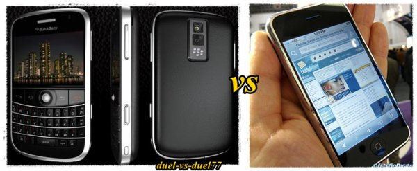 iphone ou blackberry