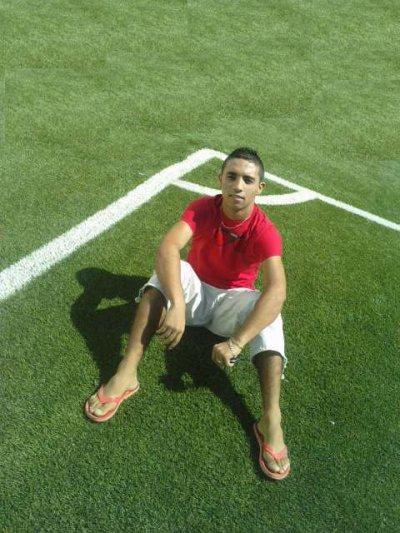 moi   avant  le match