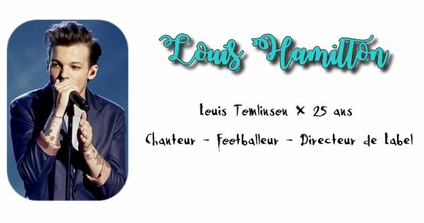 Louis Hamilton.
