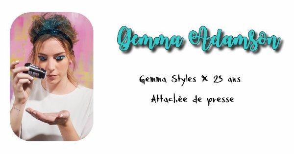 Gemma Adamson.