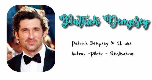 Patrick Dempsey.