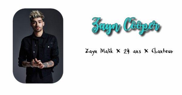 Zayn Cooper.