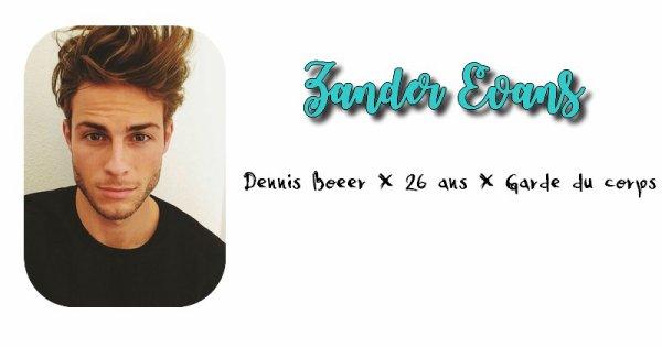 Zander Evans.