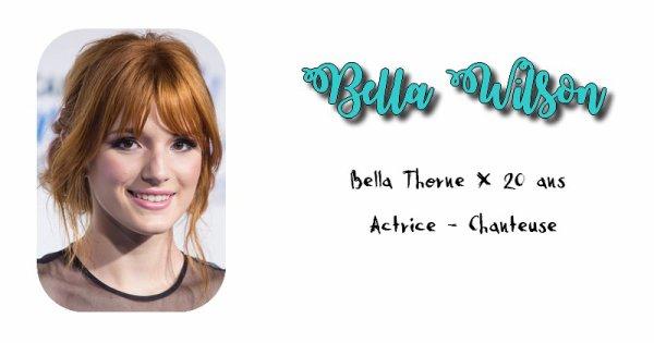 Bella Wilson.