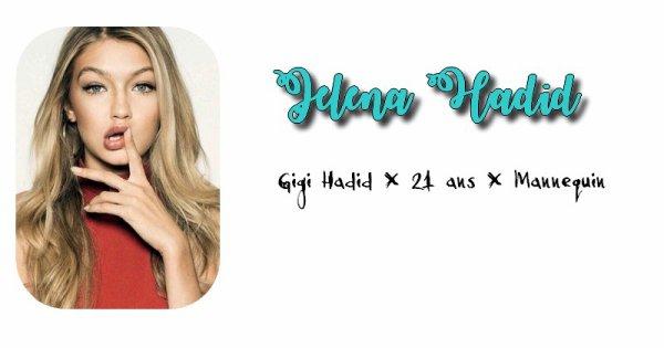 Jelena Hadid.