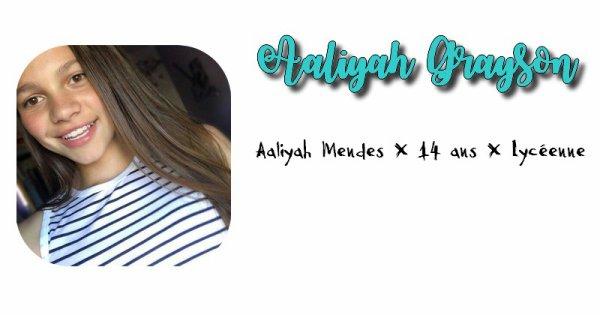 Aaliyah Grayson.