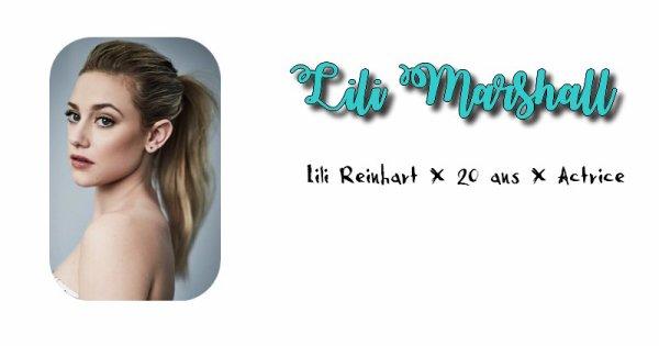 Lili Marshall.