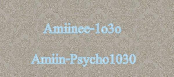 Amiine-1o3o