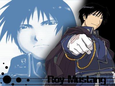 Roy Mustang.
