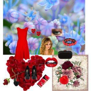 robe saint valentin