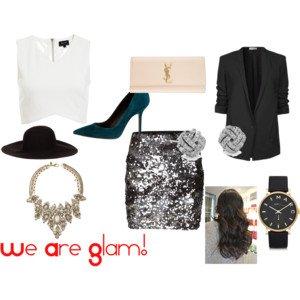 tenue Glam'