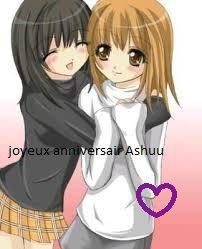 joyeux anniversair Ashuu