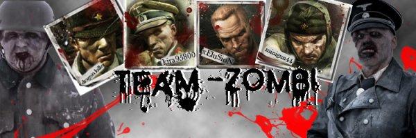 Team de pro en zombi