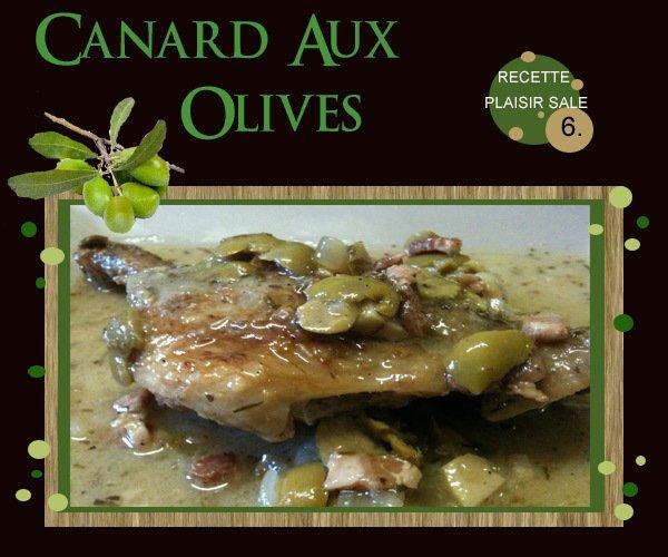 CANARD FARCI AU OLIVES
