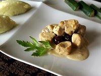 noisette de lapin o olives et aux noisette