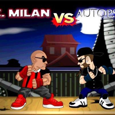 # AC MILAN VS AUTOPSIE 5 #  Version Chapokane animation !!!