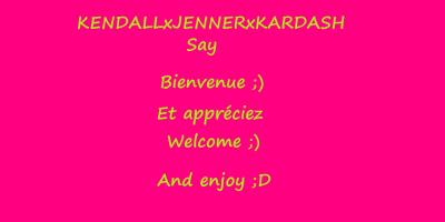 Bienvenue/Welcome ;D <3