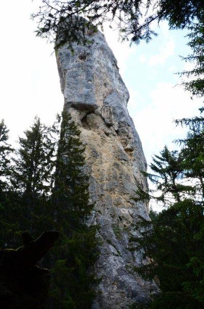 Un monolithe à coté de Modane