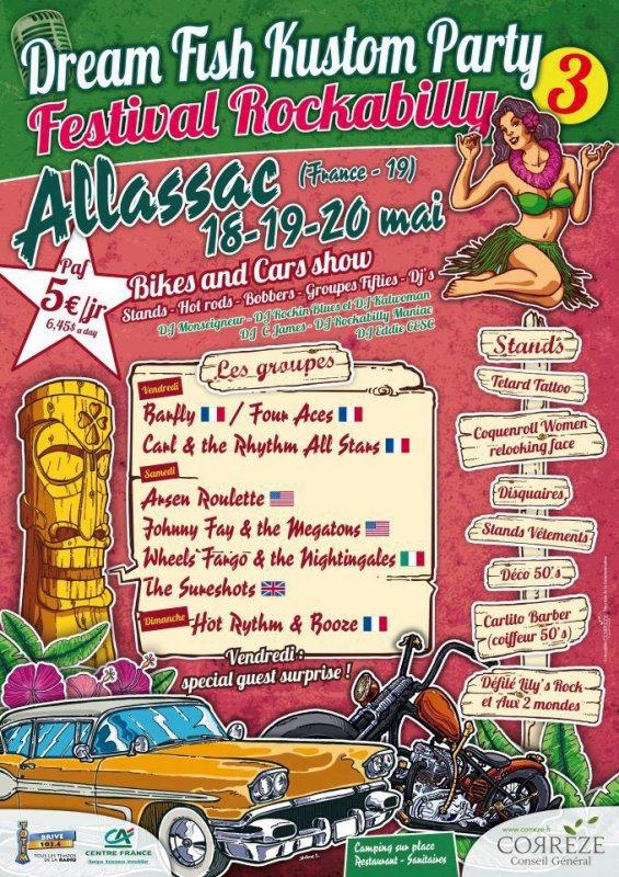 affiche de concert et festival
