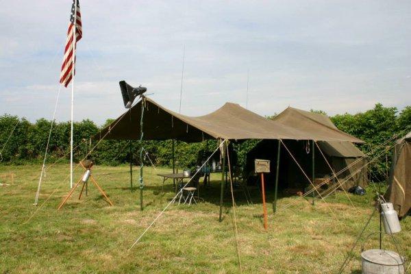 ma tente et auvant sans oublier le 48 etoiles