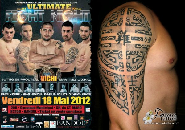 Fenua Tattoo vs  Ultimate Fight Night