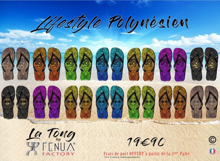 La Tong By Fenua Factory : Le Lifestyle Polynésien