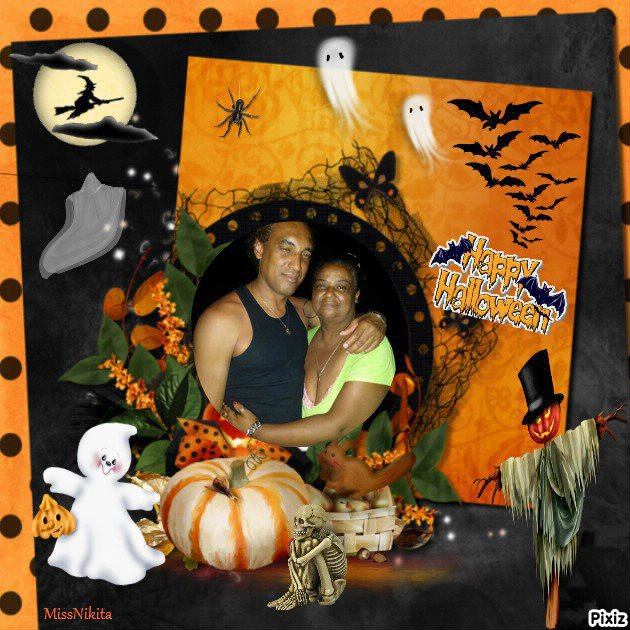 Montage cadeau spécial Halloween de mon amie poupoune85653