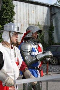 Week end medievale avec la Famille des Lys