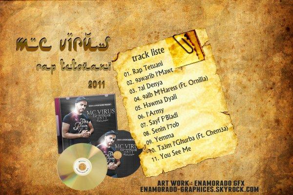 RAP TETOUANI 2011 TRACK LISTE