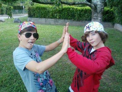 Colin & Zac Qui Tape la Pose xD