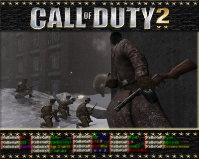 Old KeBeKeR vers fin de call of duty 2