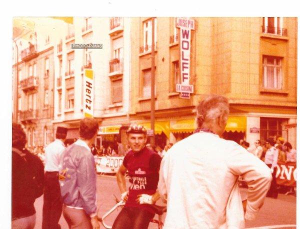 TOUR EUROPEEN 1979 arrivée étape à Metz