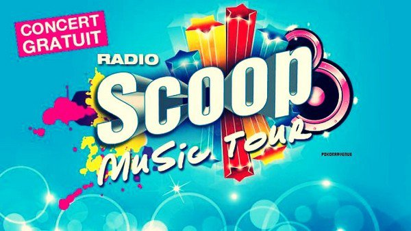 Scoop music tour, le plus grand concert à ciel ouvert.