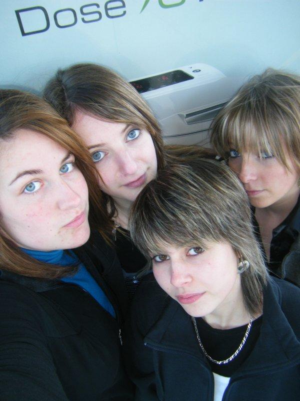Les 4 inseparables =)
