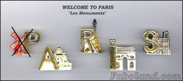 RECHERCHE WELCOME TO PARIS
