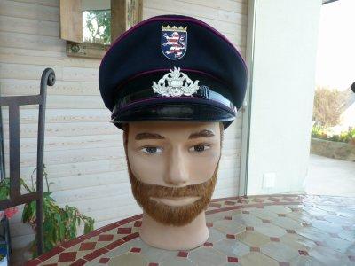 casquette de pompier allemand