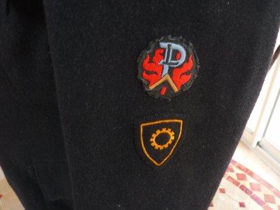 vestes sapeurs pompiers suisses