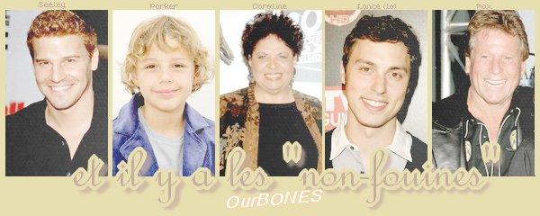 Personnages Bones