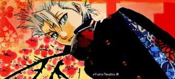 "Toshiro........... ☃ .......... Hitsugaya . "" Élεvε-toi jusqu'αu ciel gelé,   Hyourinmαru !   """