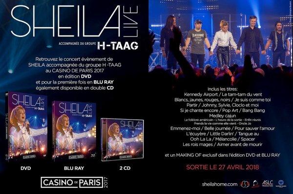 Le Concert de Sheila au Casino de Paris