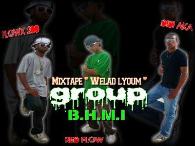 """Group """" B.H.M.I"""" de B.E.T kiii vient  avc un Mix-tape 100/100 Selawiii Marocain"""