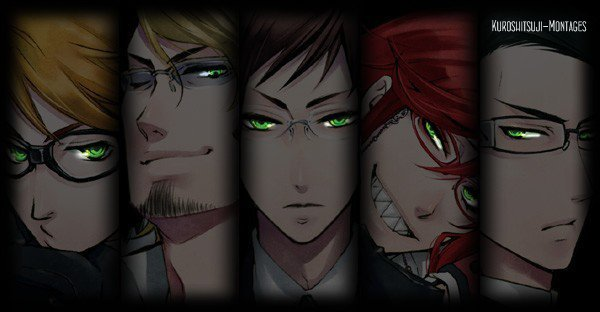 "----Les shinigamis : Ronald, Eric, Alan, Grell, William, "" Père "" & Undertaker ; biographie.----"