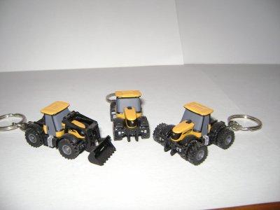 porte cle tracteur jcb
