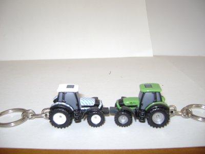 porte clé tracteur deutz fahr
