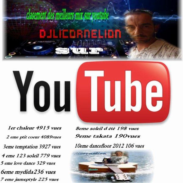 les dix meilleur mix sur ma page youtube