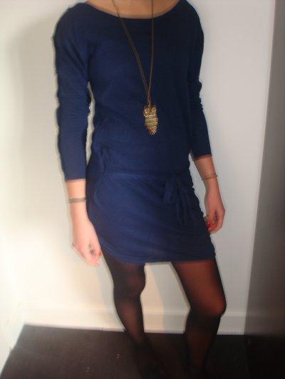 Tunique Zara et collier H&M