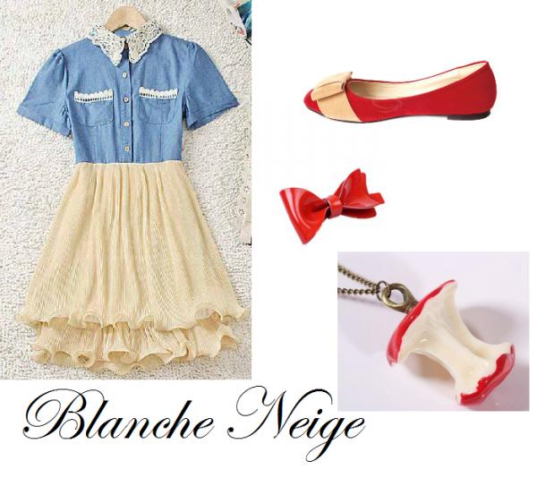 Blanche Neige - Vintage