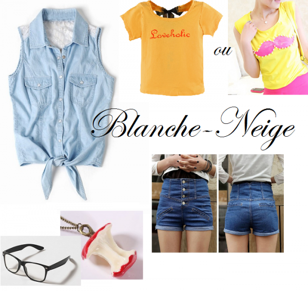 Blanche Neige - Hipster