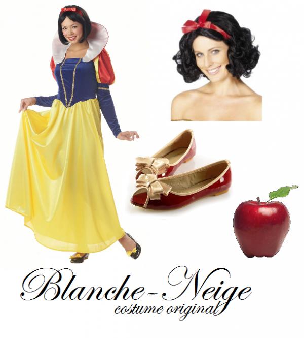 Blanche Neige - Costume original